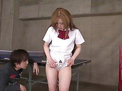 Teen, Brunette, Masturbation, Japanese