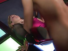 Teen, Blowjob, Facial, Foot Fetish