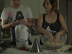 Teen, Kitchen, Femdom