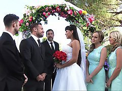 Teen, Blonde, Wedding, Wedding