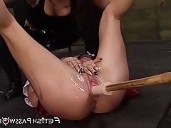 Lesbian, Teen, Bondage