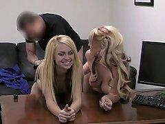 Blonde, Fucking, Hardcore, Office