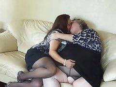 Lesbisch Gesicht Sitzen Bbw