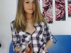 Babe, Blonde, Webcam