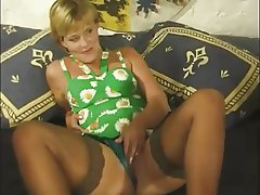 German, MILF, Old and Young, Threesome